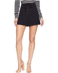 Bishop + Young - Bridget Lace Up Shorts (black) Women's Shorts - Lyst