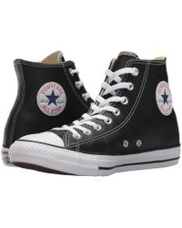 9f0fb97df5fc6e Converse - Chuck Taylor(r) All Star(r) Leather Hi (black