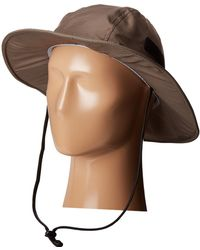 San Diego Hat Company - Ocm4624 Lightweight Boonie Hat With Side Velcro, Sealed Seams And Adjustable Chin Cord - Lyst