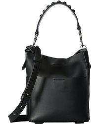 AllSaints - Suzi Mini Tote (black) Tote Handbags - Lyst