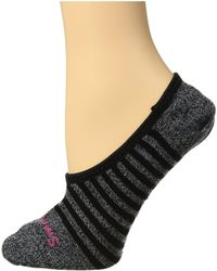Smartwool - Premium Stripe Hide And Seek No Show (black) Women's No Show Socks Shoes - Lyst