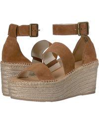 5e1c97dd77a Soludos - Palma Platform Sandal (blush) Women s Shoes - Lyst