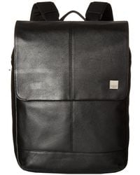 Knomo - Brompton Classic Hudson Flap Backpack (black) Backpack Bags - Lyst