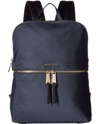 7cdfc0a03147 MICHAEL Michael Kors - Polly Md Slim Zip Backpack (admiral) Backpack Bags -  Lyst