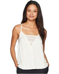Roxy - Color Spaces Woven Tank Top (marshmallow) Women's Sleeveless - Lyst