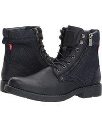 Levi's - Levi's(r) Shoes Jacoby Denim (navy Monochrome) Men's Shoes - Lyst
