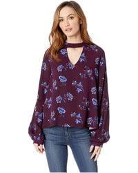 Stetson - 2105 Floral Herringbone (wine) Women's Clothing - Lyst
