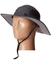 Mountain Hardwear - Canyontm Wide Brim Hat (shark) Safari Hats - Lyst