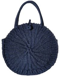 Hat Attack - Cooper Round Bag (navy) Bags - Lyst