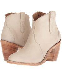 Lucchese - Gigi (tan Waxy Calf) Cowboy Boots - Lyst