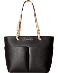 88ed711bfbbb MICHAEL Michael Kors - Bedford Medium Top Zip Pocket Tote (acorn) Tote  Handbags -
