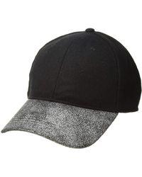 Michael Stars - Duet Baseball Cap (black) Baseball Caps - Lyst