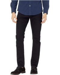 Mavi Jeans - Jake Regular Rise Slim Leg In Black Williamsburg (black Williamsburg) Men's Jeans - Lyst