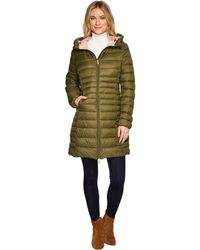 Save The Duck - Long Basic Nylon Coat - Lyst