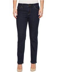 Lauren by Ralph Lauren - Petite Slimming Modern Curvy Jeans - Lyst