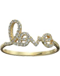 Shashi - Pave Love Ring - Lyst