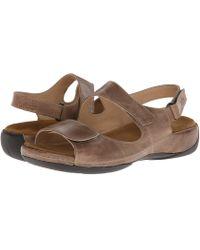 e2dc3288e Wolky - Liana (beach Cartago) Women s Shoes - Lyst