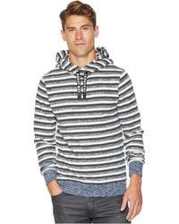Scotch & Soda - Hoodie In Multicolor Melange Felpa Quality (combo H) Men's Sweatshirt - Lyst