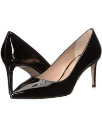 Stuart Weitzman - Leigh 70 (black Suede) Women's Shoes - Lyst