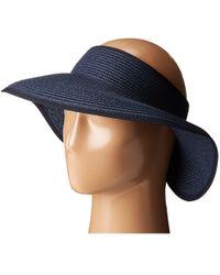 San Diego Hat Company - Ubv002 Ultrabraid Visor With Ribbon Lining (fuchsia) Casual Visor - Lyst