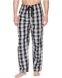 Jockey - Plaid Poly/rayon Sleep Pants - Lyst