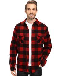 Smartwool - Anchor Line Shirt Jacket (crimson) Men's Clothing - Lyst