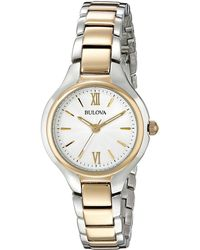 Bulova - Classic - 98l217 (two-tone) Watches - Lyst