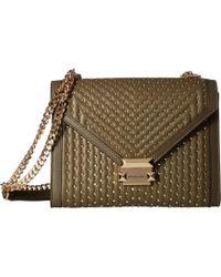6ad447e2b07a MICHAEL Michael Kors - Whitney Large Shoulder (olive) Shoulder Handbags -  Lyst
