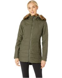 The North Face - Harway Insulated Parka (new Taupe Green) Women's Coat - Lyst