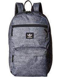 e802ebb37e adidas Originals - Originals National Backpack (olive Cargo Aw Camo) Backpack  Bags - Lyst