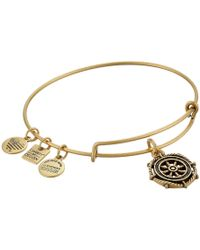 ALEX AND ANI - Charity By Design Take The Wheel Charm Bangle - Lyst