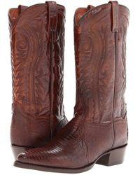 Dan Post - Raleigh (antique Tan) Cowboy Boots - Lyst