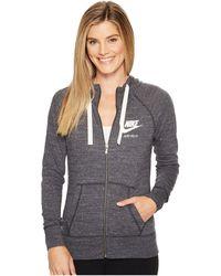 Nike - Gym Vintage Full Zip Hoodie - Lyst