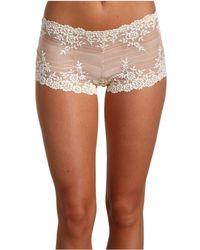 Wacoal - Embrace Lace Boyshort (black) Women's Underwear - Lyst