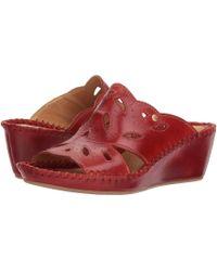 Pikolinos - Margarita 943-1606 (coral) Women's Slide Shoes - Lyst