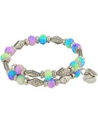 ALEX AND ANI - Islander Wrap Bracelet (rafaelian Silver) Bracelet - Lyst
