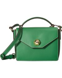 Frances Valentine - Mini Midge Crossbody (green Ray) Cross Body Handbags - Lyst