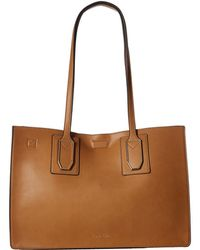 CALVIN KLEIN 205W39NYC - Unlined Novelty East/west Boxed Tote - Lyst