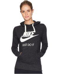 860eeb8157a8 Nike - Sportswear Gym Vintage Hbr Hoodie (spirit Teal sail) Women s  Sweatshirt -