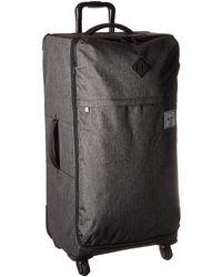 Herschel Supply Co. - Highland Large (black Crosshatch) Luggage - Lyst