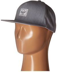 Herschel Supply Co. - Dean (heathered Grey) Caps - Lyst