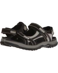 Drew - Warren (black/grey Nubuck) Men's Shoes - Lyst
