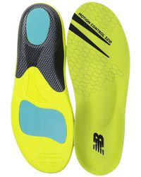 New Balance - Motion Control Insole (neon Green) Insoles Accessories Shoes - Lyst
