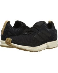 adidas Originals - Zx Flux Primeknit (utility Ivy/utility Ivy/gum) Men's Running Shoes - Lyst