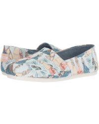 TOMS - Disney(r) Alpargata (grey Seven Dwarfs Printed Canvas) Women's Shoes - Lyst