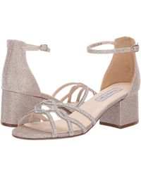 Touch Ups - Zoey (champagne) Women's Bridal Shoes - Lyst