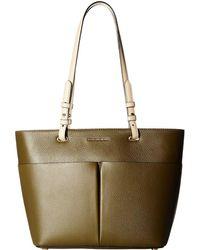 b065e1723cc7 MICHAEL Michael Kors - Bedford Medium Top Zip Pocket Tote (black) Tote  Handbags -