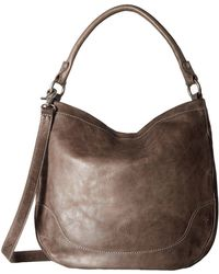 Frye - Melissa Hobo (dusty Rose Antique Pull Up) Hobo Handbags - Lyst
