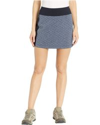 Smartwool - Diamond Peak Quilted Skirt (deep Navy Heather) Women's Skirt - Lyst