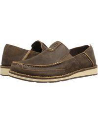 Ariat - Cruiser (vintage Bomber 2) Men's Slip On Shoes - Lyst
